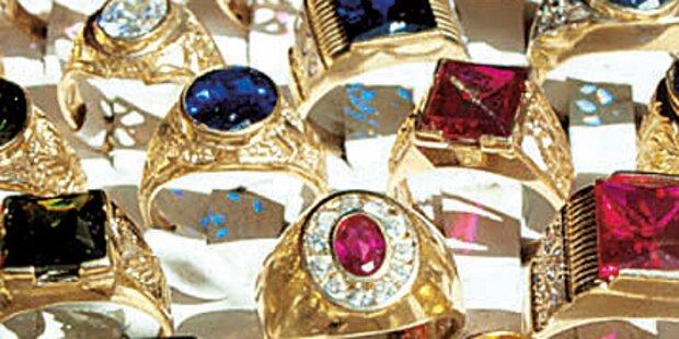 300 Ringe gestohlen