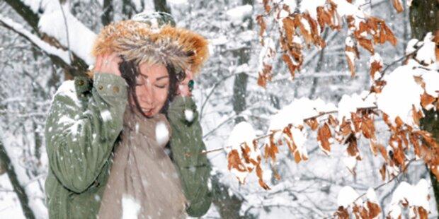 Tief 'Katharina' bringt neuen Schnee-Rekord