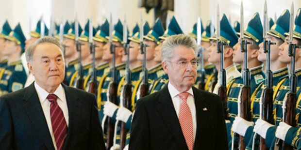 Kasachstan will Aliyev zurück