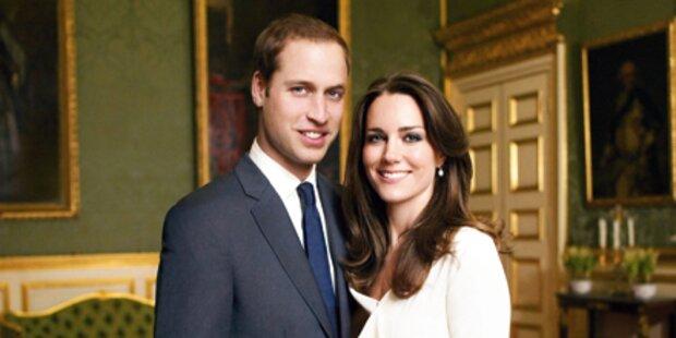 William & Kate wollen keine Diener
