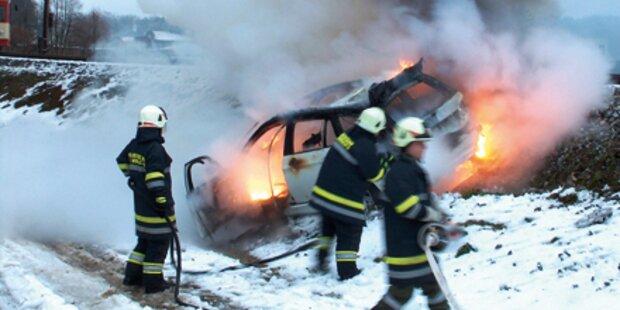 Autobrand: Vater rettete Sohn (13)
