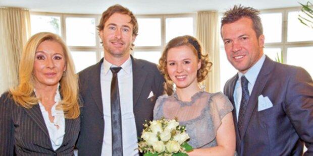 Lothars Tochter heiratet Kitz-Liebe