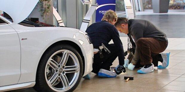 Luxus- Auto-Diebe geschnappt