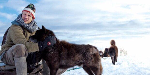 Maier als Held am Südpol
