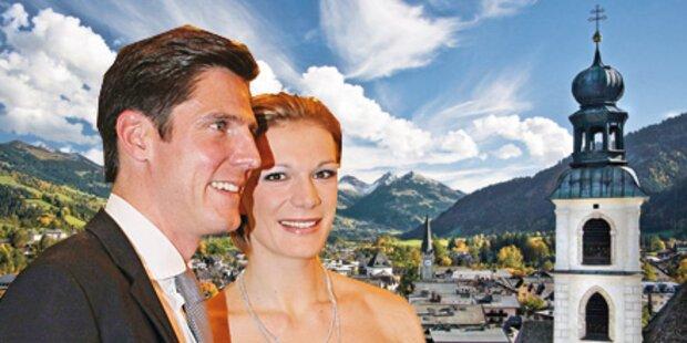 Maria Riesch: Kitz-Hochzeit ganz in Weiß
