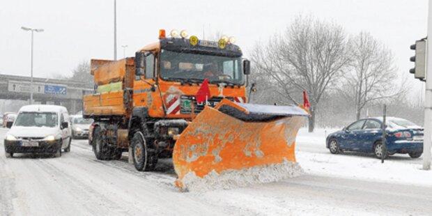 Geisterfahrer prallte gegen Schneepflug