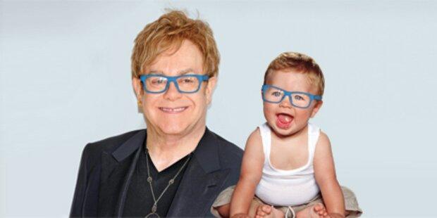 Elton John ist der leibliche Vater