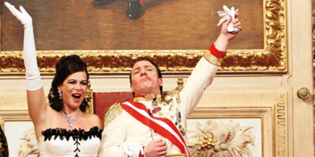 Neujahr: Kaiser zählt den Countdown ein