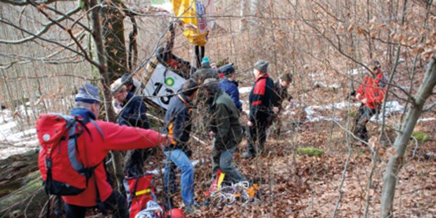 71-Jähige stürzt im Lungau 180 Meter ab