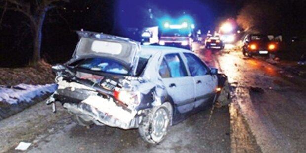 Glatteis sorgte für zahlreiche Unfälle