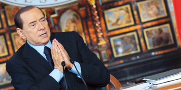 Berlusconi hielt sich 24 Geliebte