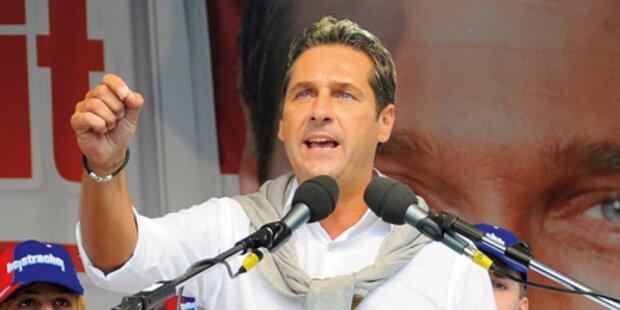 Strache: Treffen mit Le Pen in Italien