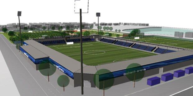 Austria plant ein Stadion in Liefering