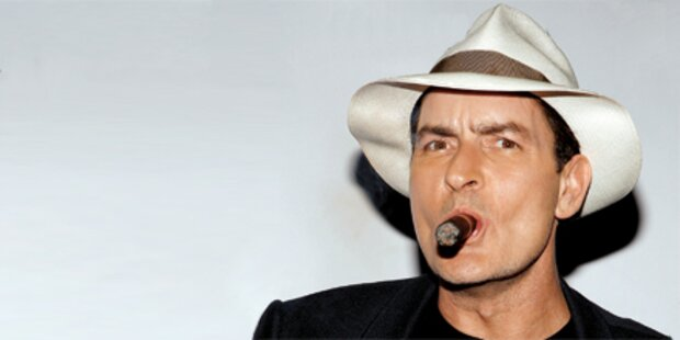 Sheen probte für eigenen Pornofilm