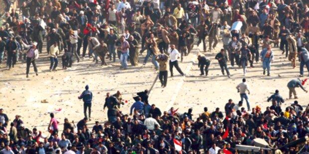 Straßenschlacht um Kairo