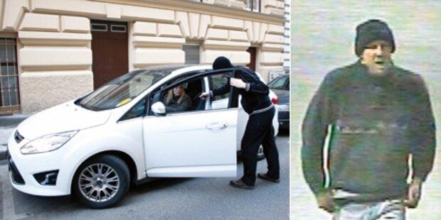 Überfall auf junge Autofahrerin