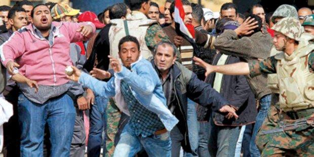 Protestwelle: Kopten tief gespalten