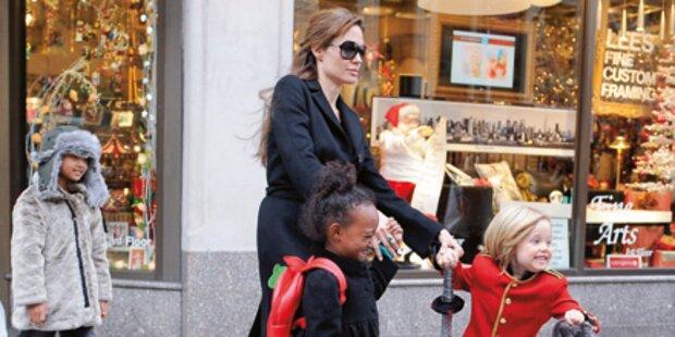 Angelina Jolie in der großen Krise