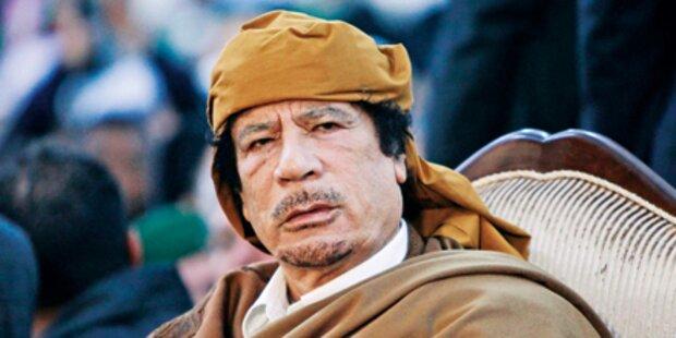 Gaddafi droht mit Bin Laden