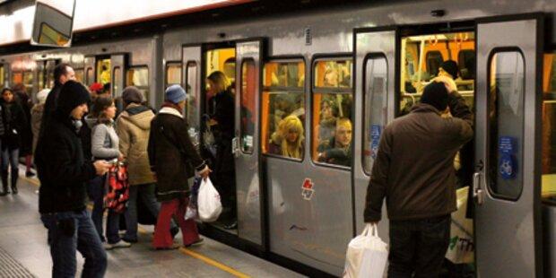 838,7 Mio Fahrgäste für Wiener Öffis