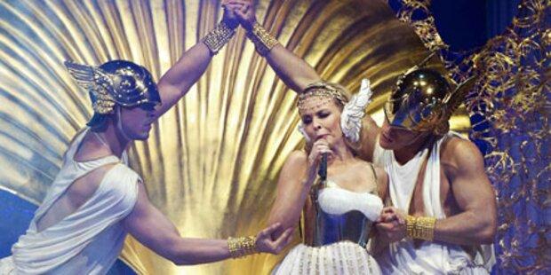 Kylie Minogue: Göttliche Welt-Tournee