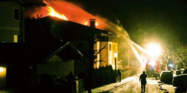 7 Familien nach Brand obdachlos