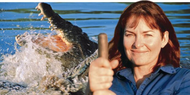 Kärntner rettet Frau vor Krokodilen