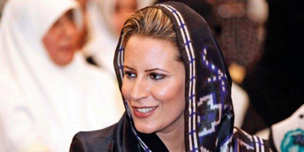 Gaddafi-Tochter bekam Baby während Flucht