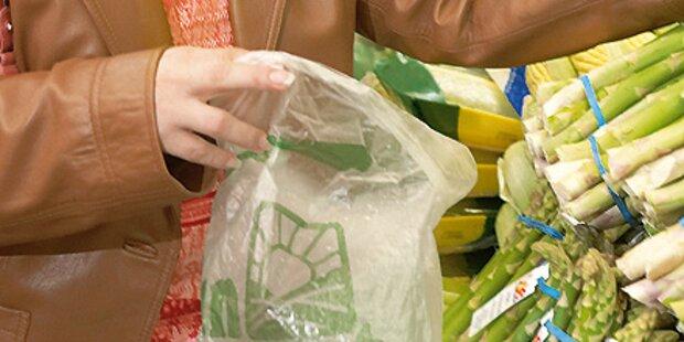 Plastiksackerl vor dem Aus