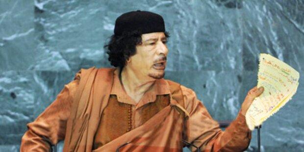 Kein Lebenszeichen von Gaddafi