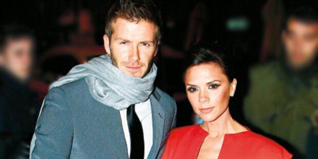 David Beckham in Auffahrunfall verwickelt