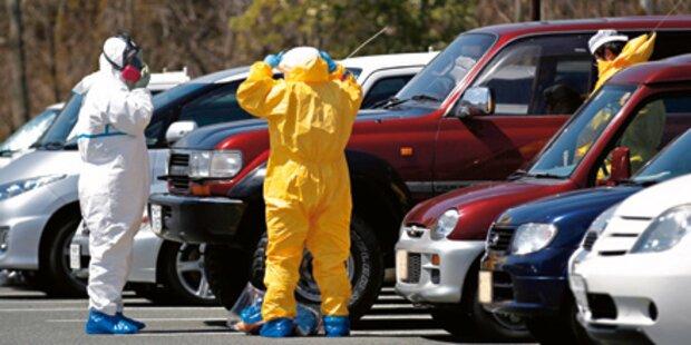 Arbeiter in Reaktor 1 in Fukushima
