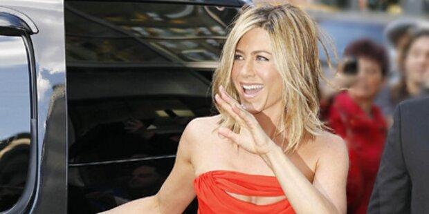 Das ist Jennifer Anistons wilde Seite