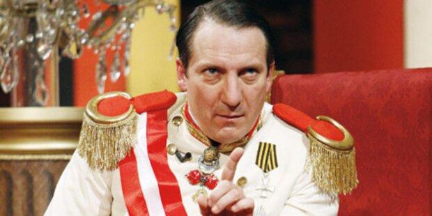 Palfrader: Piefke-Alarm beim Kaiser