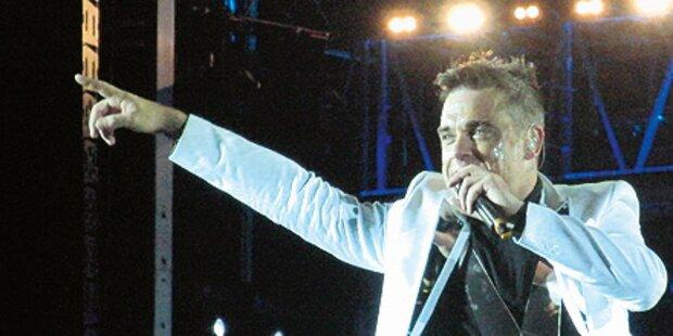Robbie: Kein Tour-Auftritt in Österreich