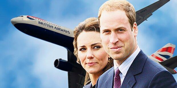 Kate & William: Billigflug nach Kanada