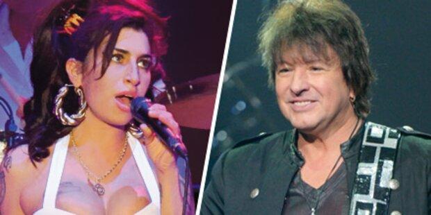 Winehouse & Sambora: 60.000 Fans zittern