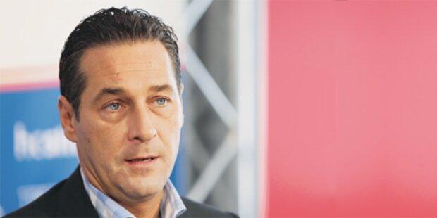 Strache präsentiert Schattenkabinett