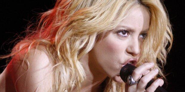 Shakira versext Österreich