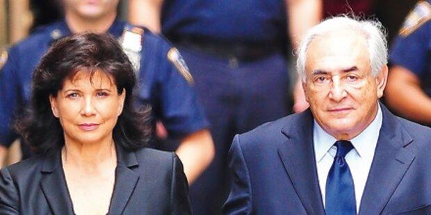 Strauss-Kahn: Seine Frau hält zu ihm