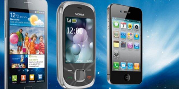 Österreichs beliebteste Handys