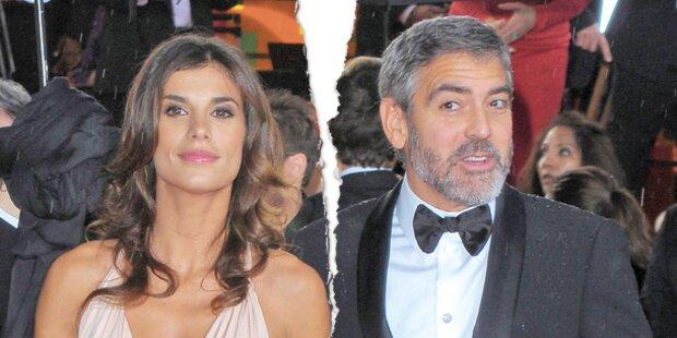 Canalis gab Clooney den Laufpass