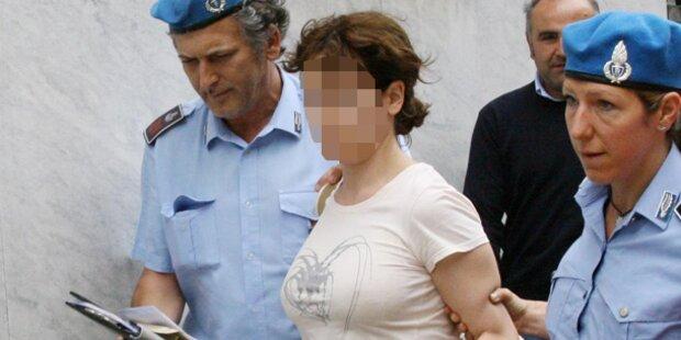 Eis-Lady: Triste Hochzeit hinter Gittern