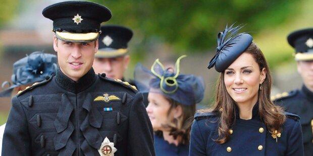 Kate & William starten Amerika-Tour