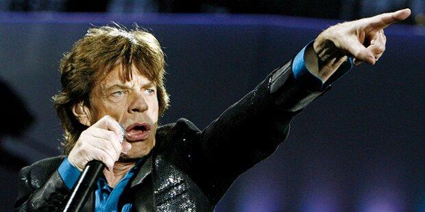 Jagger rockt jetzt mit zwei Bands