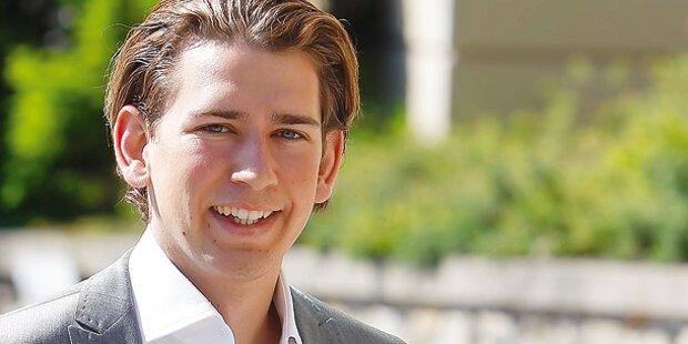 Kurz will Pensions-Bremse