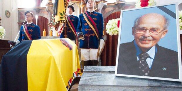 Otto Habsburg: So wird er begraben
