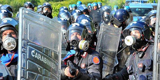 Bari: Migranten gingen auf Polizei los