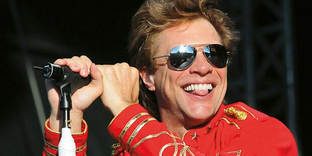 Bon Jovi rocken im Mai 2013 Wiener Krieau