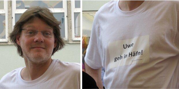 Mit Anti-Scheuch-Shirt auf FPK-Umzug